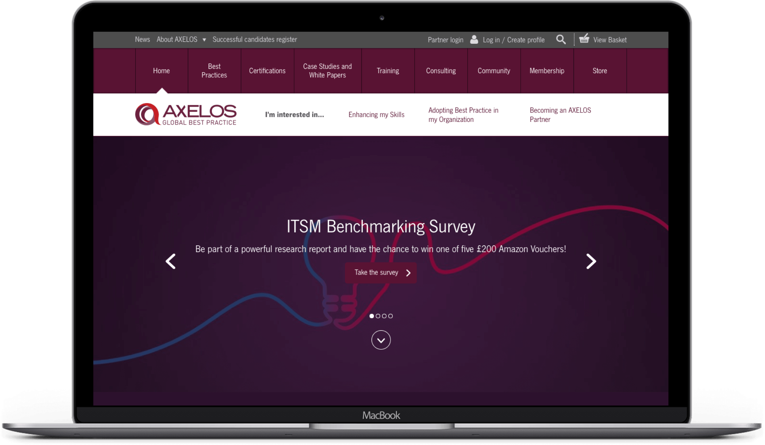 AXELOS Website