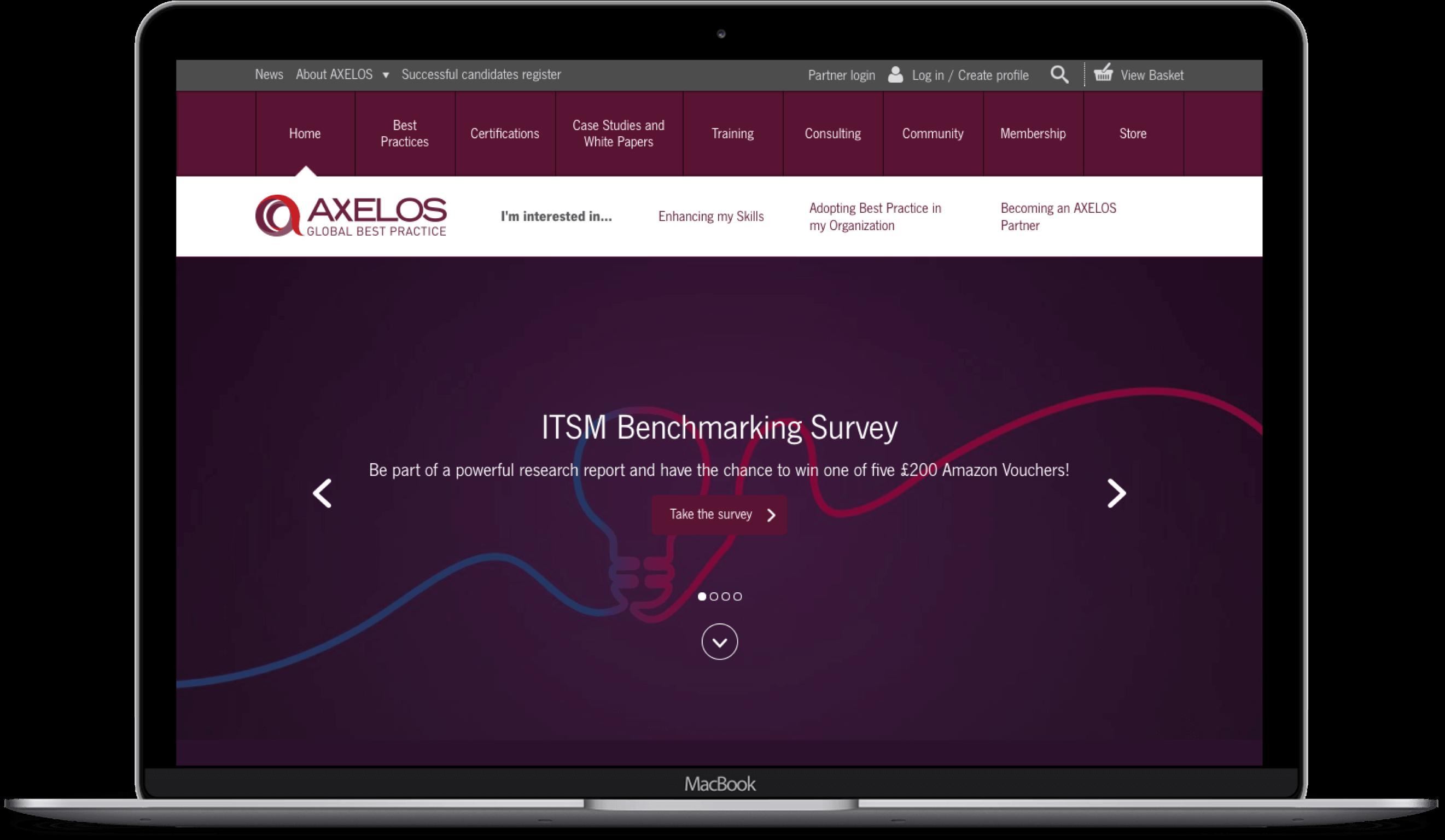 AXELOS Website